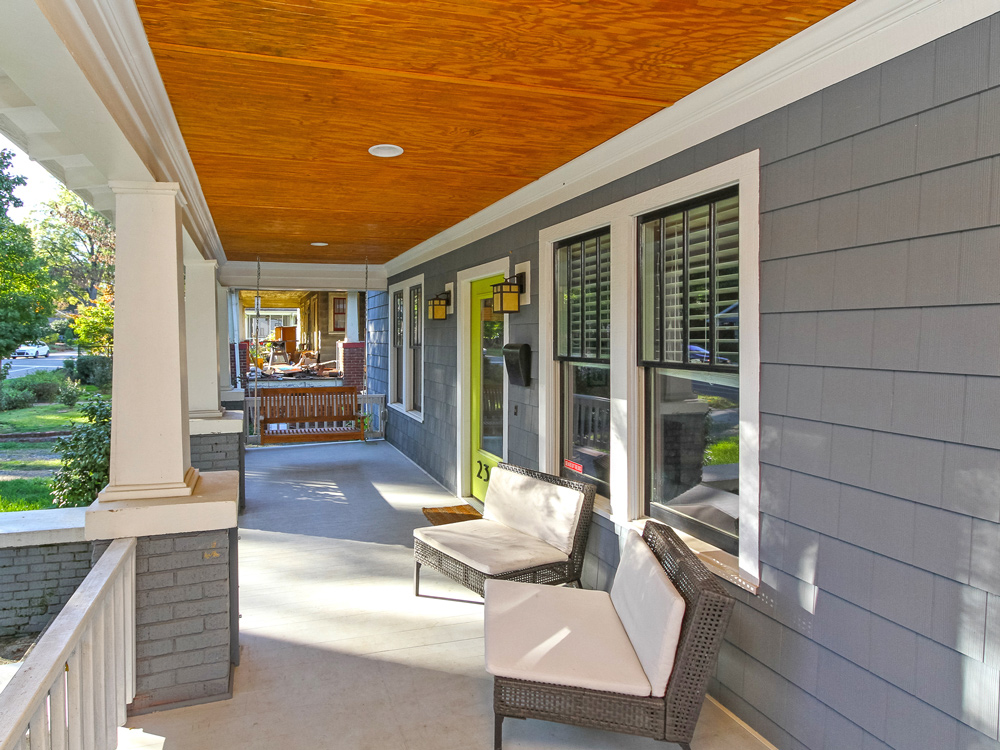 Plaza Midwood Front Porch Renovation_5596