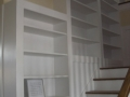 Trim - Staircase bookshelves