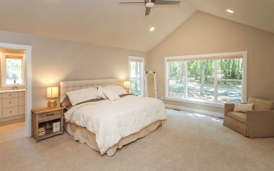 Matthews Urban Farmhouse Master Bedroom Suite