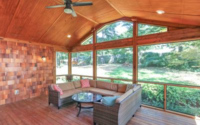 Matthews Screened Porch