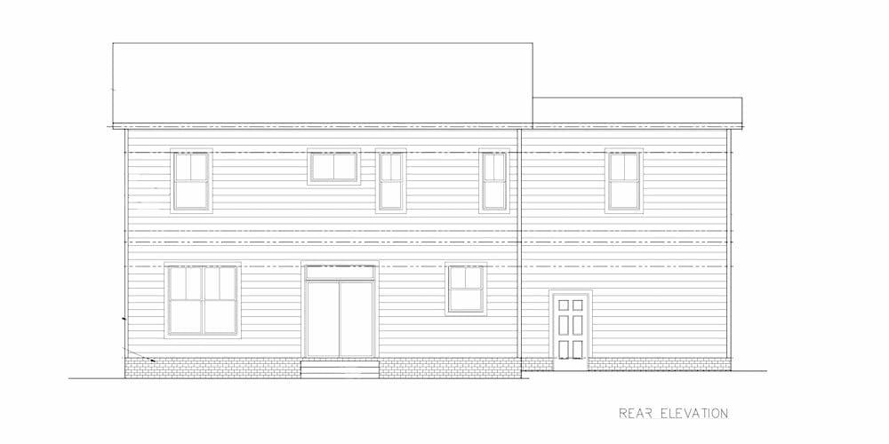 501 Greystone Plans rear